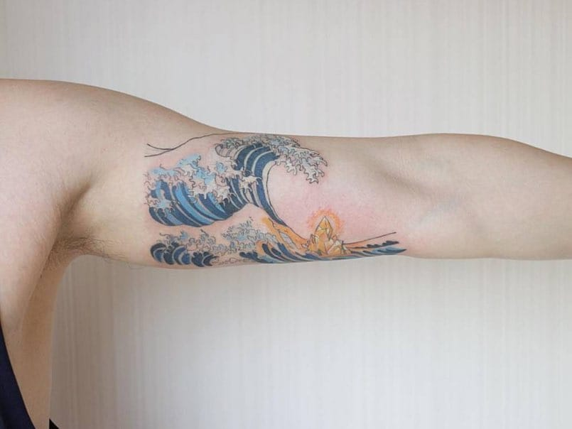 Tatuajes De Estilo Japones Con Mucha Historia Mini Tatuajes