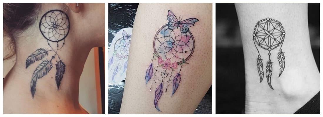 Tatuajes De Atrapasueños Para Alejar Las Malas Vibraciones Mini