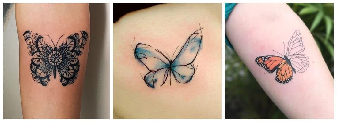 Tatuajes De Mariposas Con Significado Mini Tatuajes
