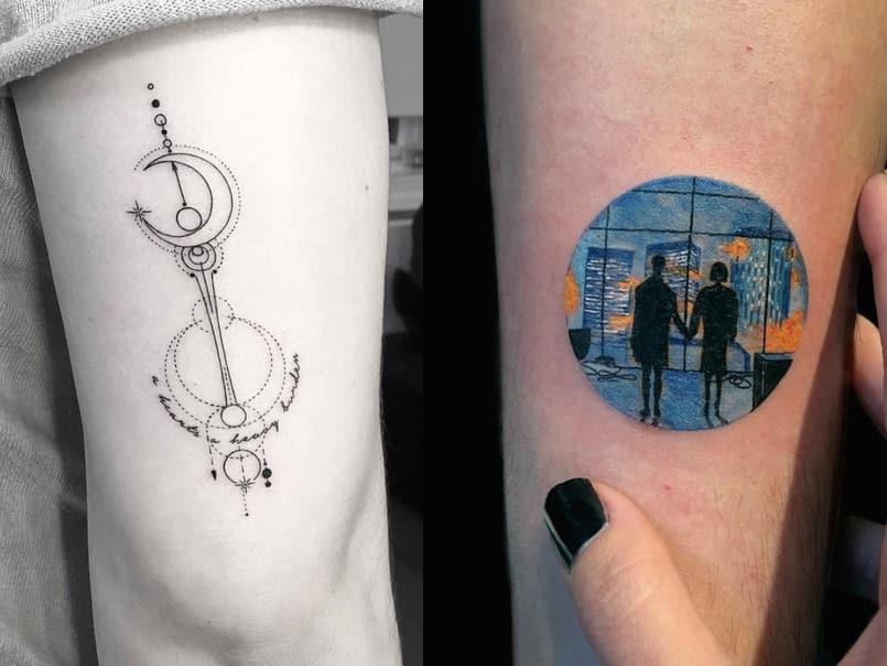 76fbc1d45f6aeb Tatuaje a color o sólo en negro? Todo lo que tienes que saber - Mini ...