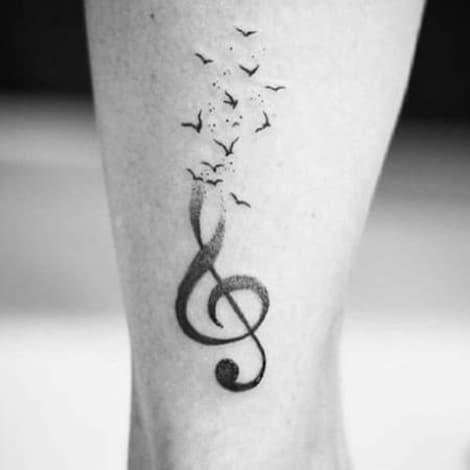 Notas Musicales Tatuajes