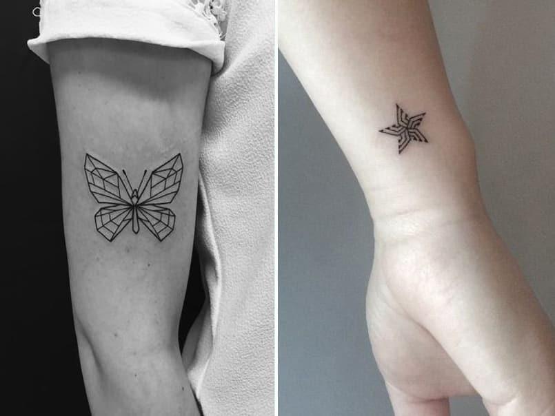 tatuajes-mariposas-estrellas