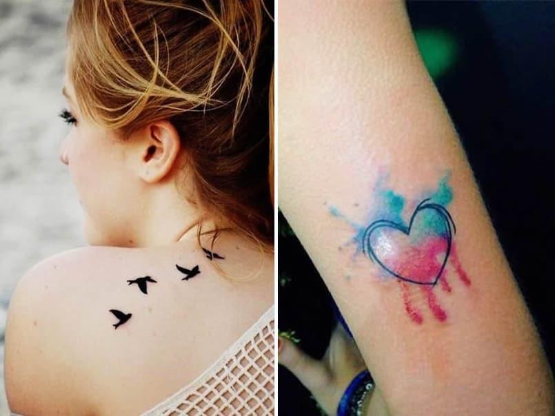 tatuajes-pajaros-corazones