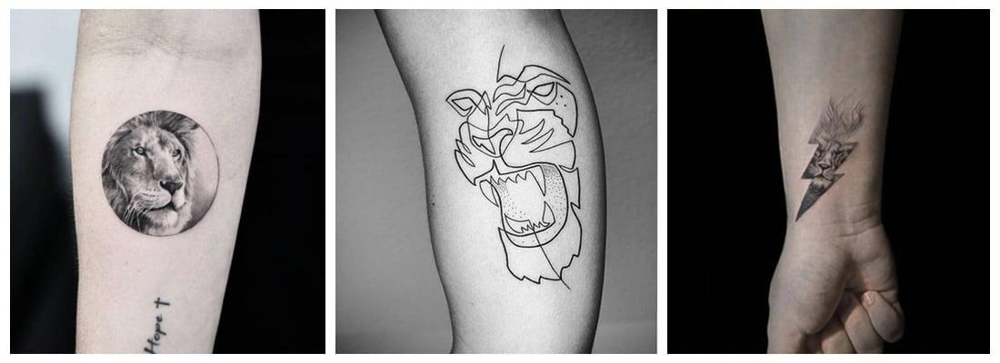 tatuajes-leones