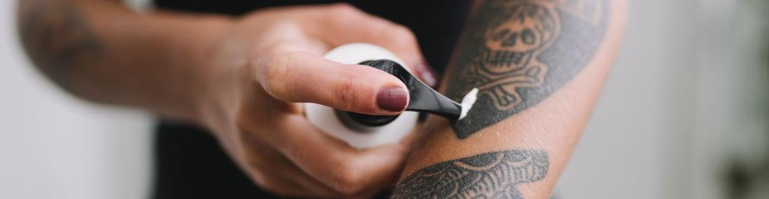 Cuidados Cremas Tatuajes